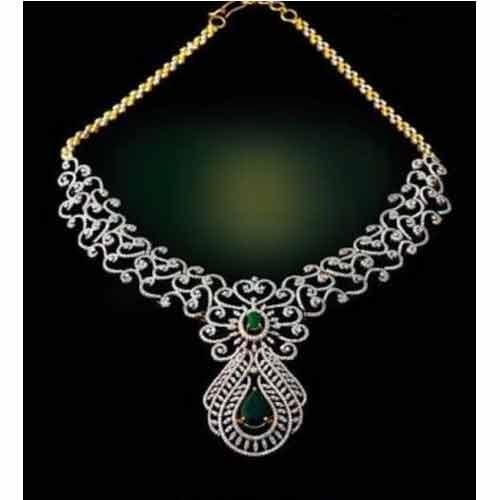 Fancy diamond necklaces at rs 300000 piece diamond necklace id fancy diamond necklaces mozeypictures Image collections