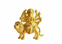 Ambaji Mata Statue - Gold Plated