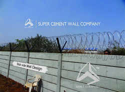 Ready Made Concrete Precast Folding Walls
