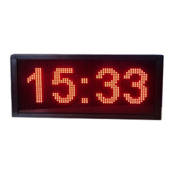 REGA LED Clock