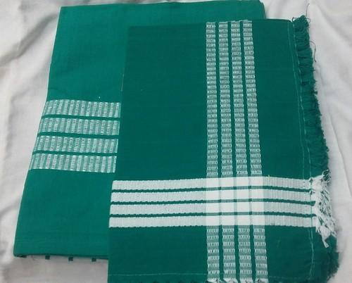 Green Blue Cotton Hospital Bed Sheet Size 45 90 Rs 175 Set