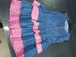 0d33b6badf Kids Denim Dress - Children Denim Dress Latest Price