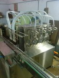 Automatic Four Heads Liquid Filling Machine