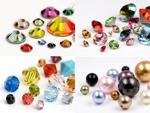 Crystal, Colors And Coated Swarovski Crystals, Size: Pp6~ss39