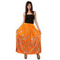 Jaipuri Girls Long Tops Designer Skirt