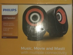 Phlips Speakers, 3w,5v Dc