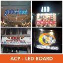 ACP LED Sign Board