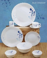 Roxx Round Opalware 33 Piece Dinner Set for Home