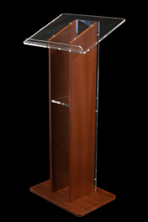 Wooden and Acrylic Lecture Stands