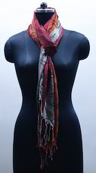 EGSC00037 Multi Colored Jacquard Scarf