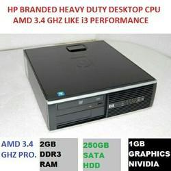 Gray Bkack HP Branded Computer Used, Memory Size (RAM): 2gb Ddr3