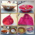 New Jaipur Handicraft Wooden Room Hamper Basket