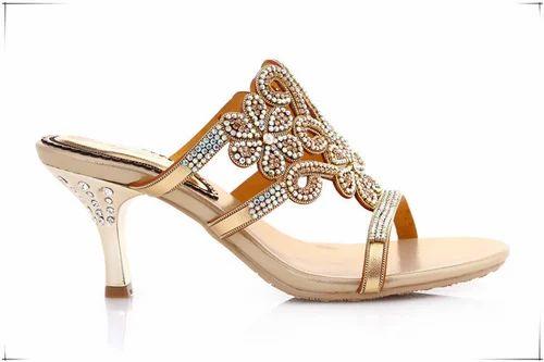 eb21e6da7bce3a Bridal Party Wear Sandal - View Specifications   Details of Bridal ...