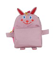 Pink Rabbit School Bag