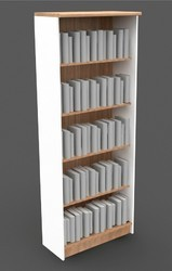 Single Side Library Rack