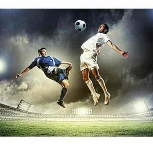 Football Wallpaper At Rs 100 /square Feet
