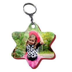 Wooden Sublimation Keyrings