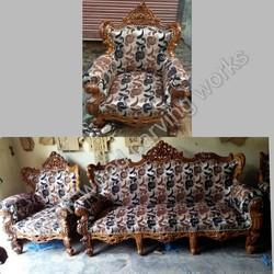 Dli Wala Sofa Set Wooden Sofa Set