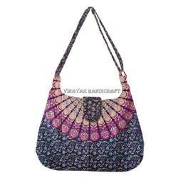Cotton Designer Mandala Bag Women Handmade Bag