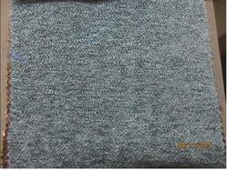 Plain Grey Chenille Fabric