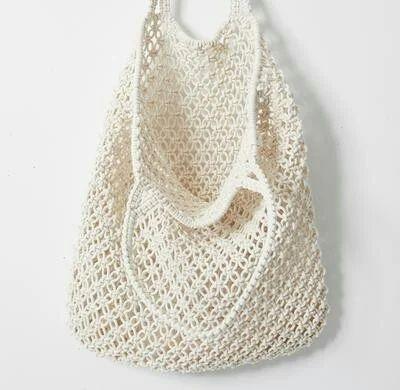 ab186bdb1b7 Macrame Bag