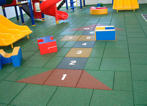 Rubber Tiles Flooring Rubber Interlocking Tiles