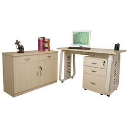Executive Metal Desk