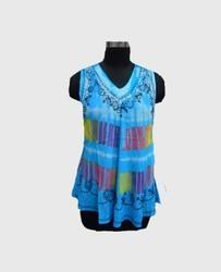 Ladies Printed Plain Casual Wear Top