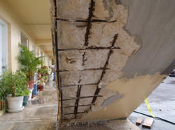 Fire Damaged Building Repairs
