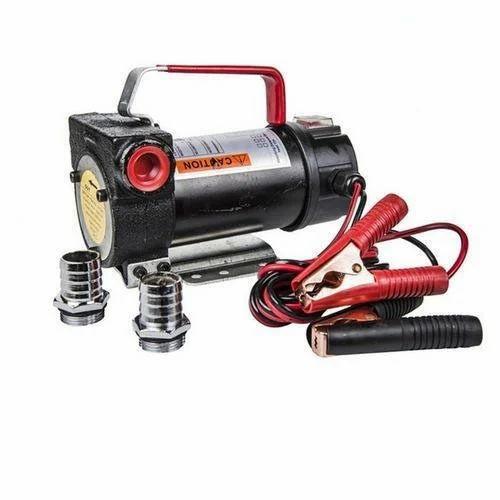 NEW 12V DC Electric Diesel Oil Transfer Pump 40L//Min Auto Water Fuel Flowmeter