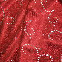 Printing Glitter Fabric
