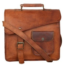 Genuine Leather iPad Messenger Bag MESS129