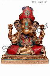 Brass Vinayaka Statue