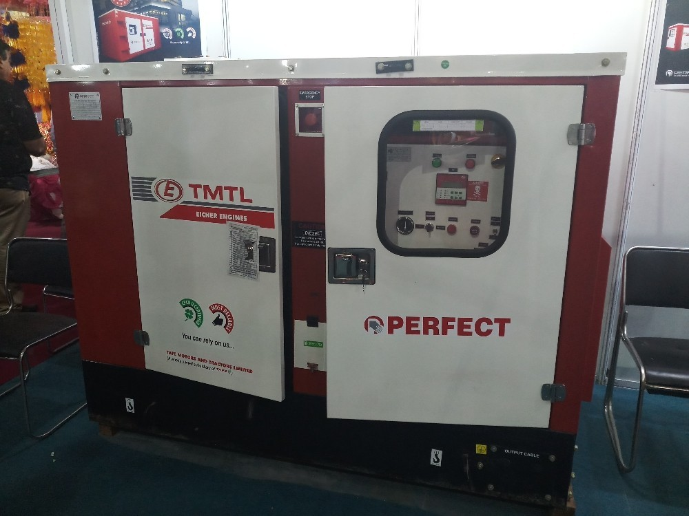 10 Kva Silent Diesel Generator At Rs 250000 Unit Thane West Thane Id 20090031862