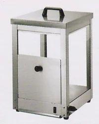 Stainless Steel 300W Nachos Warmer, For Restaurant, Size/Dimension: 405x395x555