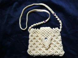 Creem Long Belt Macrame Bag Macrame Bags