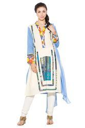 Designer Beautiful Party Wear Long Kurti Suit