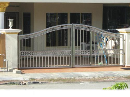 Steel Compound Gates At Rs 300 Square Feets Mumbai Id