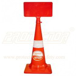 Message Plate For Safety Cone