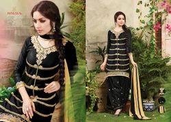Cotton Embroidered Designer Fancy Salwar Suit