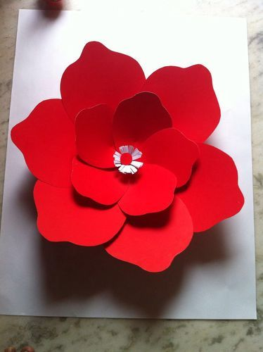 Giant Big Paper Flowers With Durable Ivory Sheets At Rs 150 Each