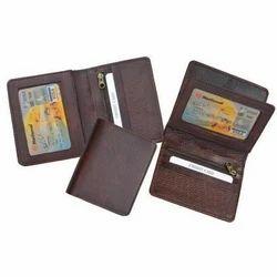 Dark Brown Mens Leather Wallet