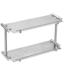 Two Layer Stainless Steel Shelf