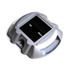Flat Solar Road Stud Light