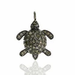 Tortoise Charm Pendant