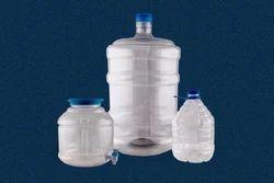 Plastic Transparent Water Jar, Capacity: 20 Lit, Size: 55mm