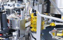 Hot Glue Label Applicator Machine