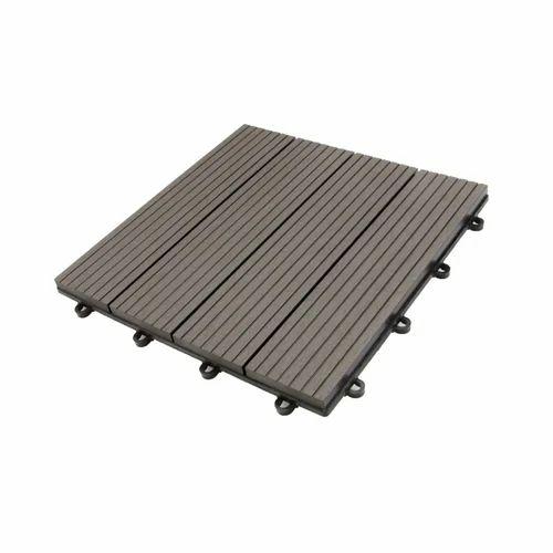 Floorwalk Wpc Decking Dark Grey Deck