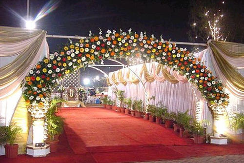 Gate Decoration & Gate Decoration Gate Decoration Services - Raj Kumar Tent House ...