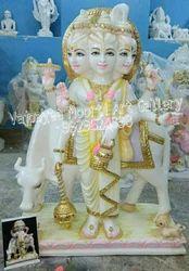 Dattatreya Marble Stone Statue